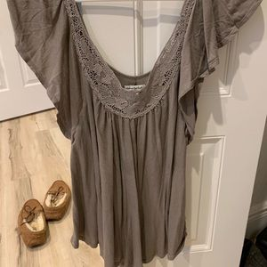 American eagle grey shirt - XS
